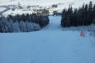 Ski areál Šanov (1 km)