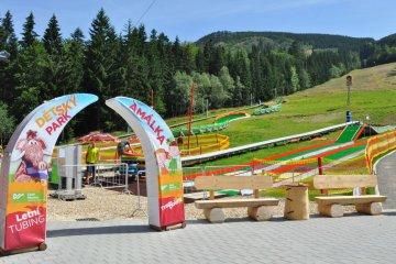 Dětský park Amálka - Dolní Morava (12 km)