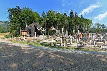 Mamutíkův vodní park - Dolní Morava (12 km)